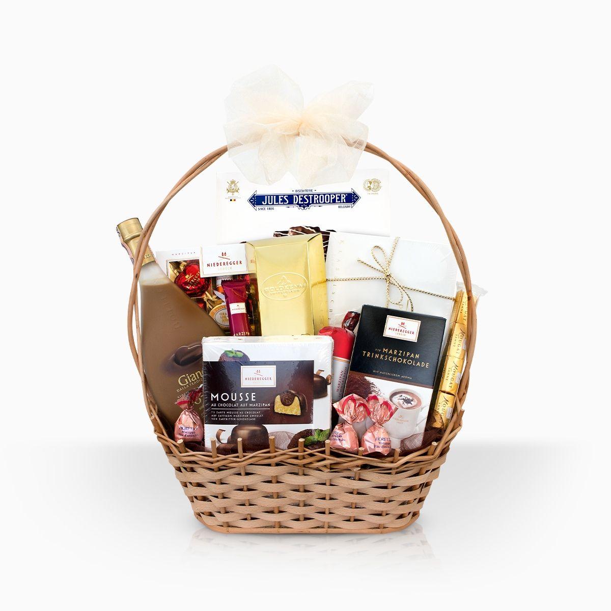 Nemusíte sa trápiť nad výberom vhodného darčeka, darčekový kôš je výbornou alternatívou